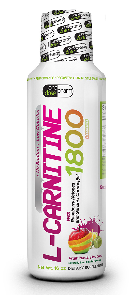 L Carnitine Amino Acid 1800 Naturally And Artificially Flavored
